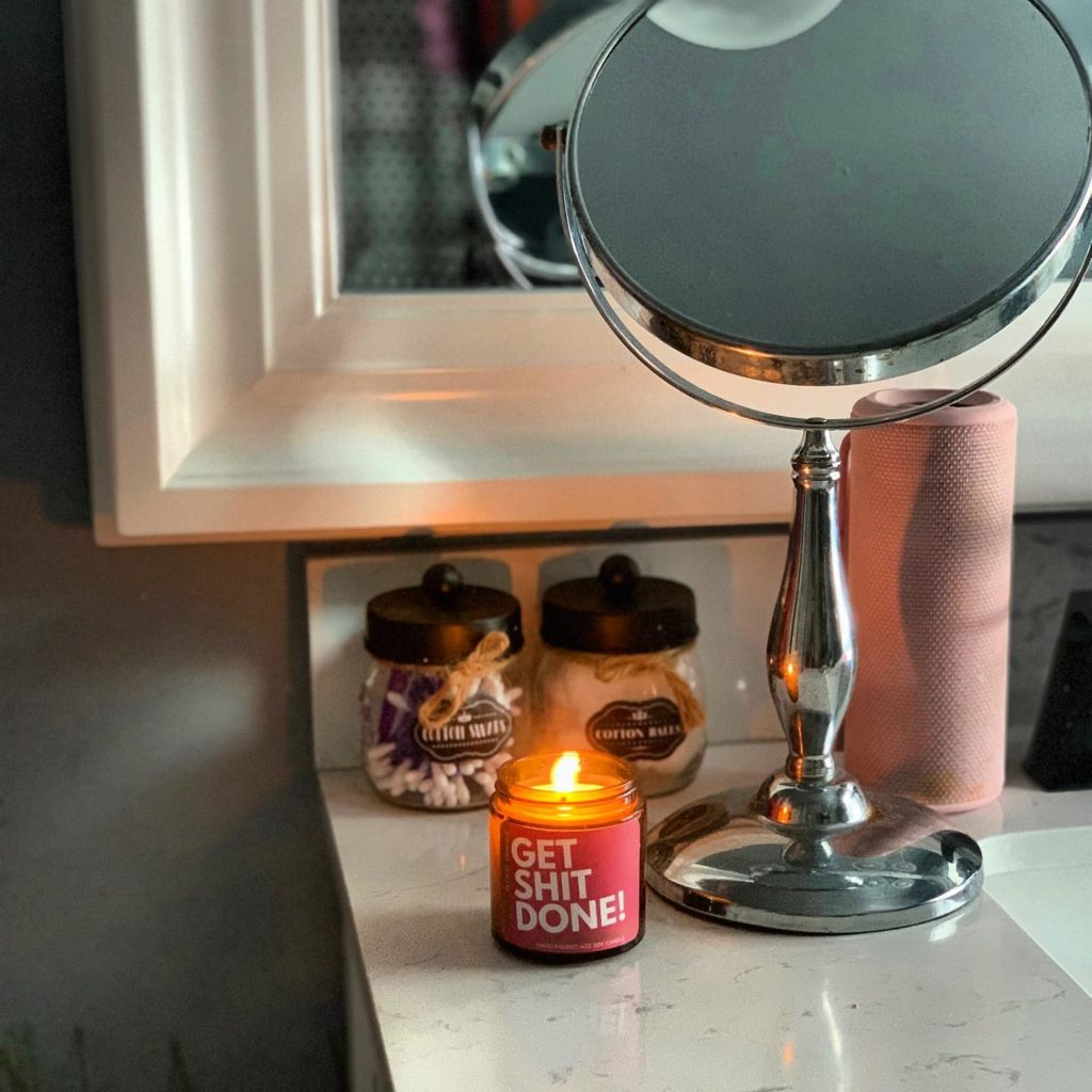 GET ISH DONE SOY CANDLE
