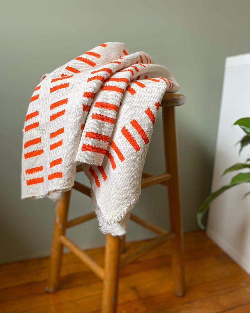 Stripe Textile Mudcloth