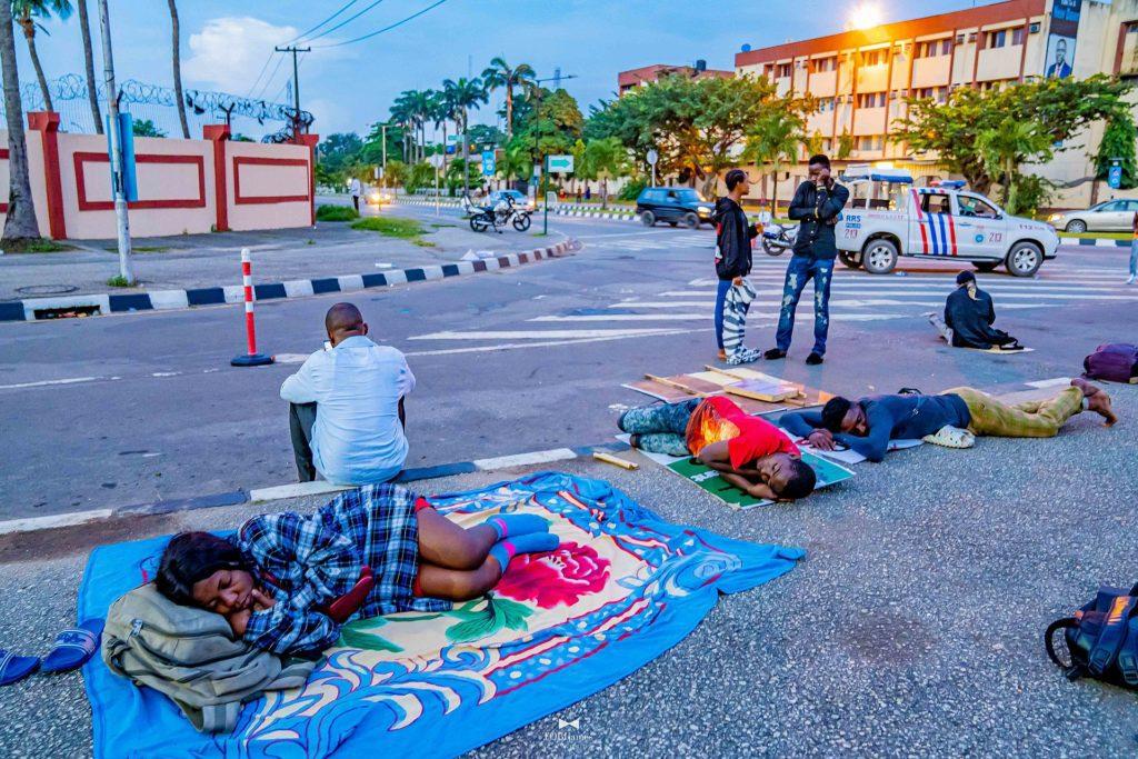 END SARS PROTEST in Lagos, Nigeria (photo by TobiJamesCandids)
