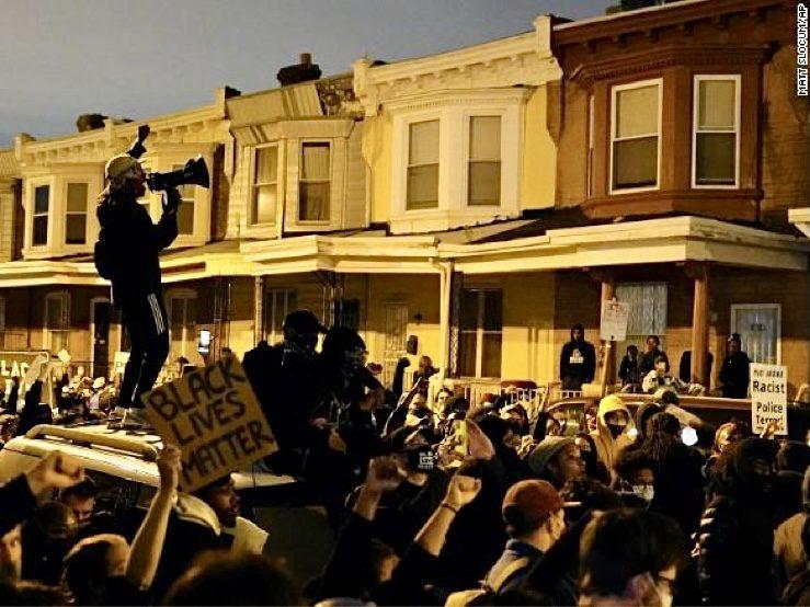 Protest in Philadelphia PA October 28, 2020