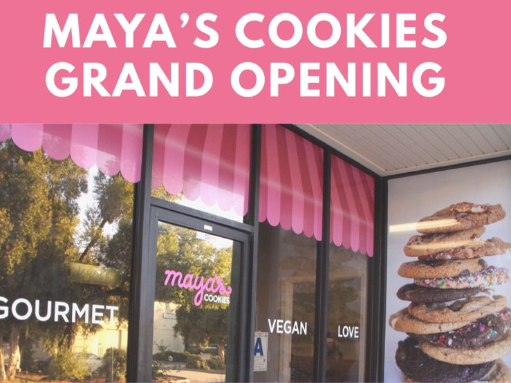 Maya's Cookies - Brick and Mortar location